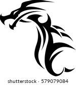 tribal tattoo design. | Shutterstock .eps vector #579079084