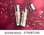 realistic elegant spray product ... | Shutterstock .eps vector #579087190