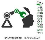 open head surgery manipulator... | Shutterstock .eps vector #579102124