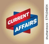 current affairs arrow tag sign. | Shutterstock .eps vector #579104854