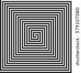Square Spiral Vector