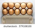 A Dozen Brown Eggs Top Shooting