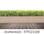 old hardwood decking or... | Shutterstock . vector #579121108