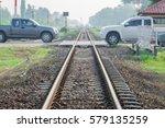 The Railway Track Run Through...
