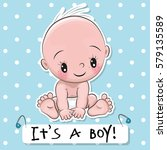 Greeting Card It Is A Boy With...