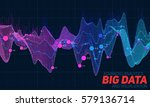 big data visualization.... | Shutterstock .eps vector #579136714