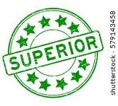 grunge green superior with star ...   Shutterstock .eps vector #579143458