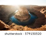 classic wide angle view of... | Shutterstock . vector #579150520
