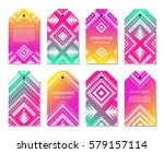 bright colorful vertical... | Shutterstock .eps vector #579157114