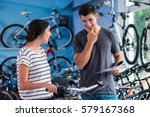 Couple Looking For Bicycle In...