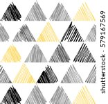 triangle pattern. beauty simple ... | Shutterstock .eps vector #579167569