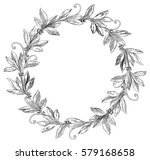 laurel wreath. vector... | Shutterstock .eps vector #579168658
