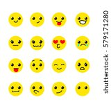 emoji faces | Shutterstock .eps vector #579171280