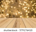 Wood Floor And Yellow Gold...