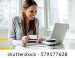 online shopping   Shutterstock . vector #579177628