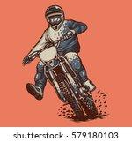 motocross adventure   Shutterstock .eps vector #579180103