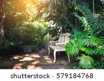 Chesterfield White In The Garden