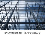 structure of steel  for... | Shutterstock . vector #579198679