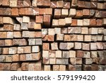 wood timber construction... | Shutterstock . vector #579199420