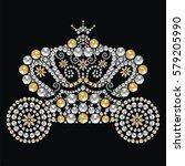 vintage fairytale royal...   Shutterstock .eps vector #579205990
