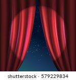 movie ending screen. vector    Shutterstock .eps vector #579229834