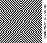 vector seamless pattern.... | Shutterstock .eps vector #579232786