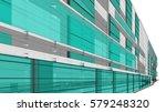 architecture building 3d... | Shutterstock . vector #579248320