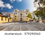 la merced church in central... | Shutterstock . vector #579290563