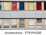 colour old windows | Shutterstock . vector #579294280