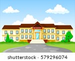 vector illustration of school... | Shutterstock .eps vector #579296074