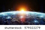 data exchange and global... | Shutterstock . vector #579322279