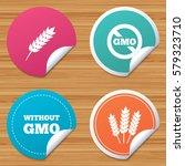round stickers or website... | Shutterstock . vector #579323710
