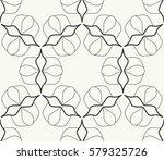 seamless geometric line pattern.... | Shutterstock .eps vector #579325726