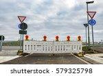 road block | Shutterstock . vector #579325798