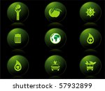 background with set of icons ... | Shutterstock .eps vector #57932899