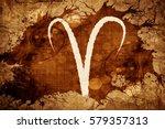 aries zodiac sign | Shutterstock . vector #579357313