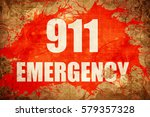 911 emergency | Shutterstock . vector #579357328