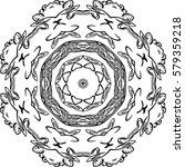 mandala. ethnic decorative...   Shutterstock .eps vector #579359218