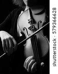 Violin Player Violinist Hands...
