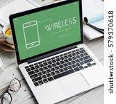 technology app development... | Shutterstock . vector #579370618