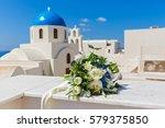 Wedding Bouquet On A Backgroun...