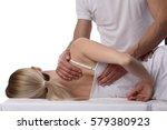 chiropractic  osteopathy ...   Shutterstock . vector #579380923