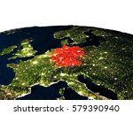 Germany At Night As Seen From...