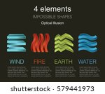 nature infographic elements on... | Shutterstock .eps vector #579441973