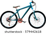 bicycle | Shutterstock .eps vector #579442618