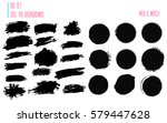sale stains for label  discount ... | Shutterstock .eps vector #579447628