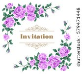 bridal shower  wedding... | Shutterstock . vector #579471448