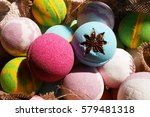 bath bombs  beauty products for ...   Shutterstock . vector #579481318