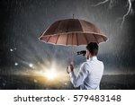 businessman confident in a... | Shutterstock . vector #579483148