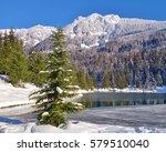 Snowy Scene In Cascade...